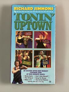 Richard Simmons Tonin' Uptown Fitness VHS Tape  - BRAND NEW & FACTORY SEALED