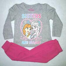 DISNEY pyjama LA REINE DES NEIGES taille 3 ans gris et rose coton