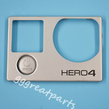 Genuine Optical Front Cover Plate with Mode Button  for Gopro Hero 4 Sliver Eddi