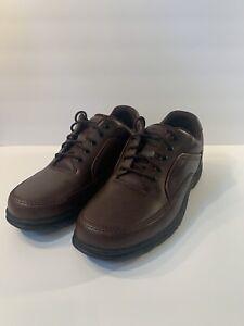 Rockport Eureka Men Size 12 XW Brown Leather Walking Shoes K71201 NEW