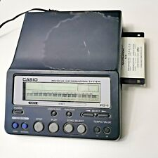 More details for casio musical instrument information system midi file player - fd-1