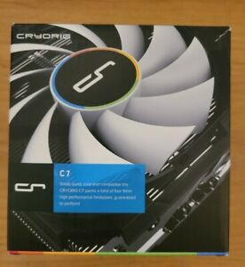 CRYORIG C7 Low Profile 47mm CPU Cooler W/ AM4 Bracket