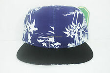 Floral Snapback Tropical Blue New  Adjustable