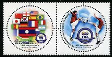 Laos Lao 2004 FIFA Fußballverband Soccer Fußball Flaggen Flags 1923-24 MNH