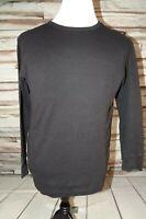US POLO ASSN Thermal  Black L/S Long Sleeve Shirt Men's L