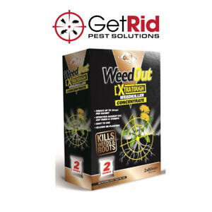 Strong WeedOut Weedkiller Doff Extra Tough Concentrate Kills Weeds Brambles Ivy