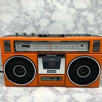 Vintage Nippon Boombox FS-5500 For Repair/Parts Only