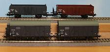 Liliput 230106  -Spur H0-  , NS-Güterwagen-Set, 4tlg, 2achs., Epoche 3,