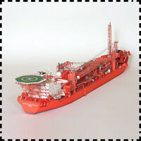 1:400 Norway Floating Production Storage and Offloading FPSO DIY Paper Model Kit