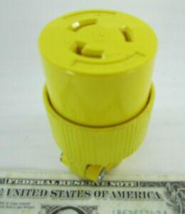 Pass & Seymour Twist Lock Female 20A 2-Pole 250V Plug, 3-Wire L6-20 L620-C L620C