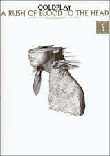 COLDPLAY A RUSH OF BLOOD TO THE HEAD Guitar TAB Music Book Songbook Shop Soiled