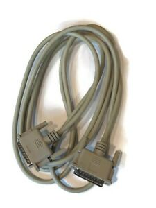 DB25 Male to DB25 Male - 10 Foot Serial Cable - New in Bag - FREE SHIPPING!