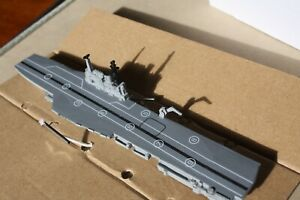 HMS Hermes Aircraft  Carrier 1966 28000 tons 1250 scale