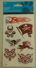 Skull Stickers in Red Stickers  254175