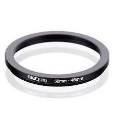 RISE (UK) 52-46MM 52MM-46MM 52 to 46 Step Down Ring Filter Adapter