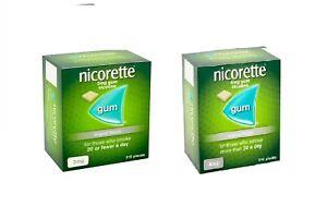 Nicorette original Flavour gum 2mg 4mg 210 pieces