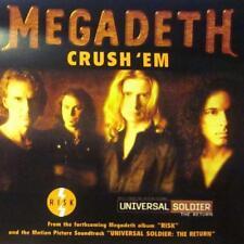 Megadeth(CD Single)Crush Em-Capitol-1999-New