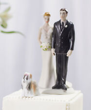 Mini Dog Wedding Cake Topper - 6 Breeds to Choose From!