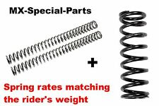Kawasaki KX 125 # Fork Springs + Shock Spring with Matching Spring Rate > Select