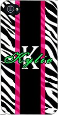 Custom  Zebra iPhone 4 5 5c 6 iPod touch 4 5  personalized hard case cover