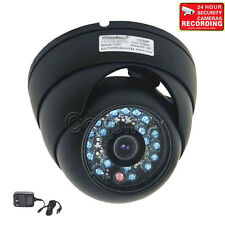 (16) Security Cameras CCD Outdoor Infrared Day Night Wide Angle CCTV IR Dome m7k