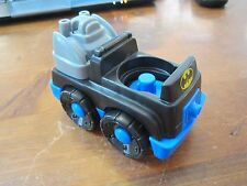 Fisher Price Little People Replacement New Batmobile Batman Car bat sounds truck