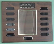 Employee of the Month Perpetual Award Plaque, 12x15 Trophy, FREE engraving