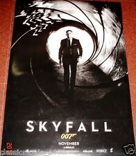 SKYFALL 007 DANIEL CRAIG  27 X 40 DS POSTER DOUBLE SIDED