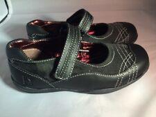 Kenneth Cole Black Leather MaryJanes School Shoes NIB Little Girls Size 8 1/2 M