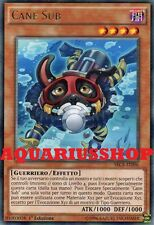 Yu-Gi-Oh Cane Sub SECE-IT096 Rara ITA Doggy Diver Nuovo Segreti dell'Eternità