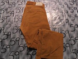 PATAGONIA Men 30 x 30 Straight Leg Iron Clad Corduroy Pants Organic Cotton Used