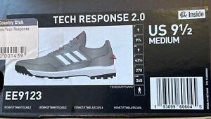 Adidas Men's Tech Response 2.0 Golf Shoes EE9123 NIB Size 9.5M Medium