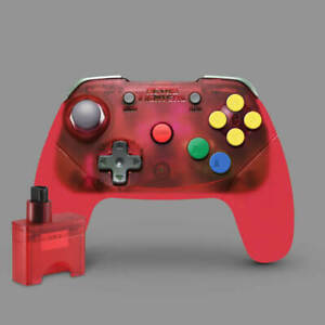 Brawler64 Wireless Edition Controller Nintendo 64 (Red) Official Stockist