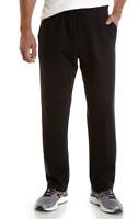 Zelos 4X SweatPants Cotton Blend  Fleece Lined Elastic Waist Black  Msrp $48.