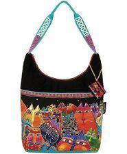 LAUREL BURCH  Fantasticats Medium Scoop Hobo Shoulder Handbag ~ New