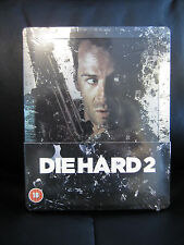 Die Hard 2 Blu-Ray Steelbook [UK] Region B Bruce Willis Action Classic Sealed
