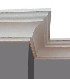 40m + 8 Ecken Styroporleisten Stuckleisten Zierleisten Eckleisten Stuck BK51