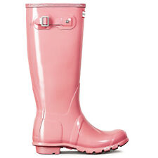 Ladies Hunter Original Tall Gloss Festival Snow Mid Calf Wellies Boots All Sizes