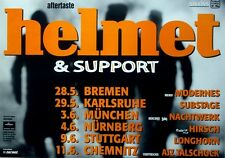 HELMET - 1997 - Tourplakat - Aftertaste - Tourposter - Concert