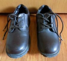 Stride rite Boys Youth Brown Dress Shoes with Laces Size 13
