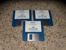 "Al Michael's Announces Hardball III - PC IBM 3.5"" floppy disks"