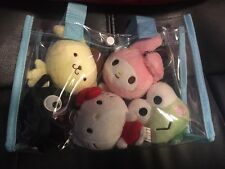 Sdcc 2016 Exclusive Hello Sanrio Keychain Set Chococat Kitty My Melody Keroppi