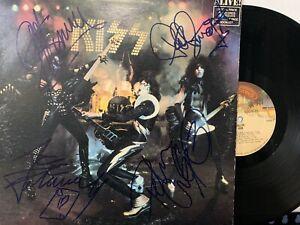 Kiss - Alive! LP 1975  Casablanca NBLP 7020 - Fully Autographed by Original Band
