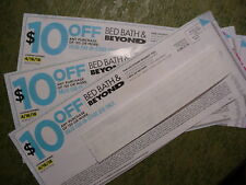 3 $10 off $30 10 30 Bed Bath & Beyond Coupons (Same as getting (6) 5 off 10)