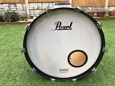 PEARL Bass Drum Decal Logo Sticker Black Vinyl
