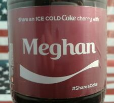 Share A Coke Cherry With Meghan Limited Edition Coca Cola Bottle 2017 USA