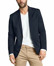 INC Mens Blazer Navy Blue Size Large L Two-Button Slim Fit Stretch $129 #155