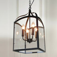 Vintage Chandelier Lighting Kitchen Island Pendant Light Clear Ceiling Lights