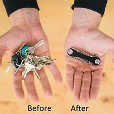 SMART KEY Organiser Expandable Keyring Holder Compact Keychain Fob Organiser