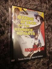 Ozone attack of the redneck mutants and abomination gore dvd